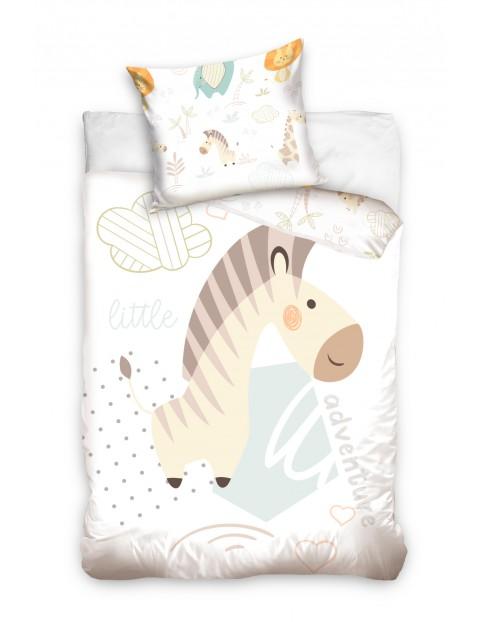 Komplet pościeli niemowlęcej Żyrafa 100x135