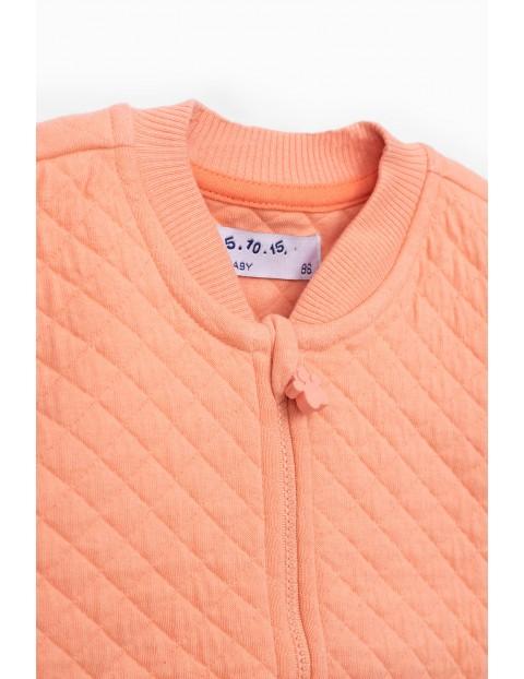 Bluza dresowa pikowana