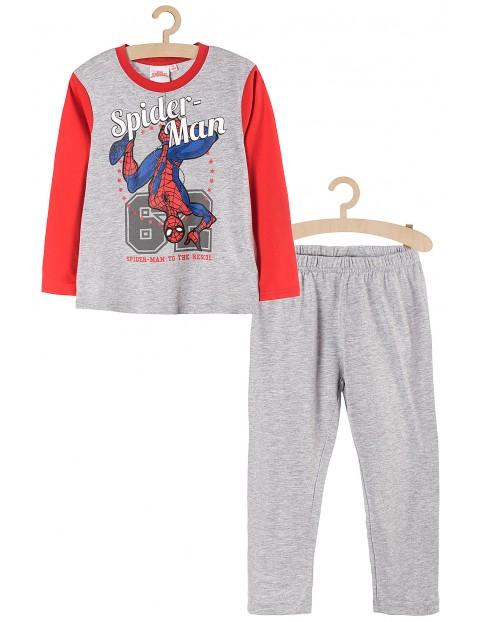 Piżama chłopięca Spiderman szara