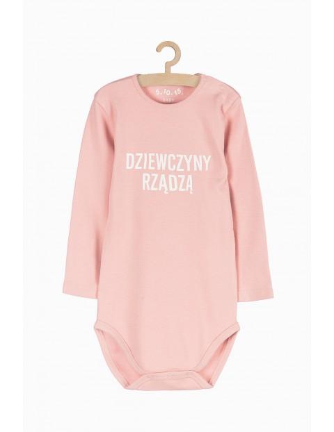 Body niemowlęce różowe - Dziewczyny rządzą