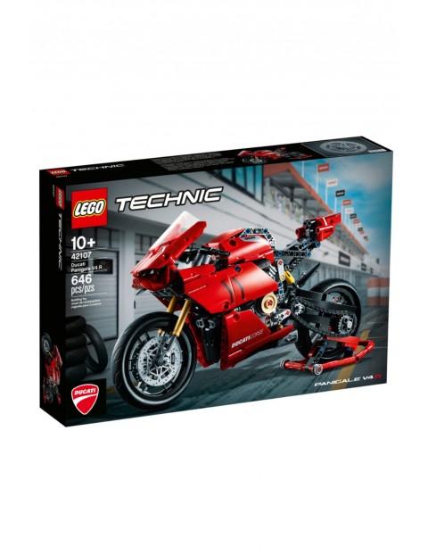 Lego Technic 42107 - Ducati Panigale V4 R - 646 elementów wiek 10+