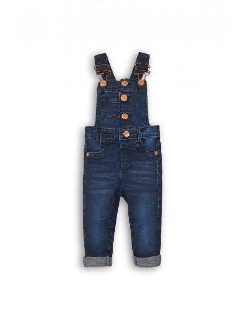 Spodnie ogrodniczki dziewczęce 3L35A5