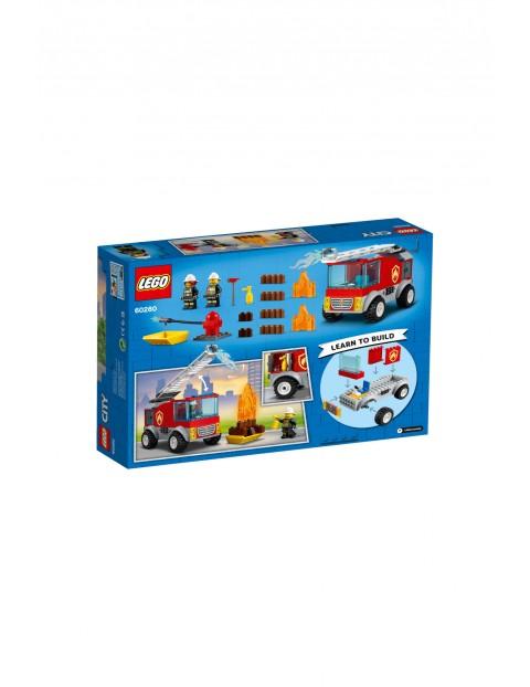 LEGO City - Wóz strażacki z drabiną - 88 elementów