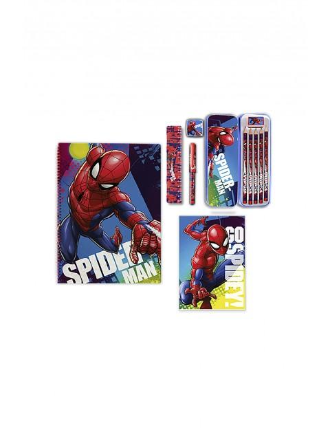 Zestaw piśmienniczy 12 elementów  Spiderman