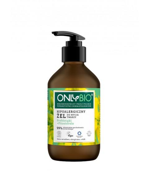 Hipoalergiczny żel do mycia twarzy OnlyBio 250ml