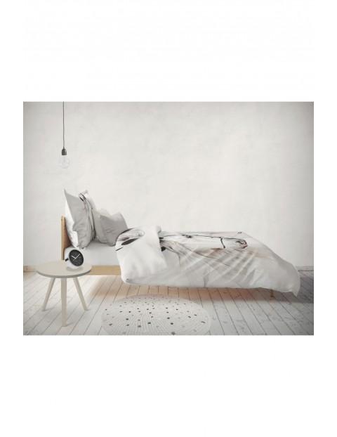 Pościel bawełniana - Koń - 140x200 cm