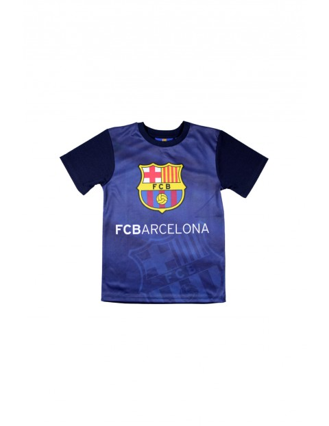 T-shirt chłopięcy FC Barcelona