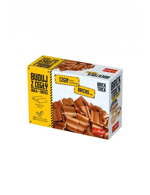 Klocki ceramiczne Brick Trick - dachówki 40szt zestaw uzupełniający
