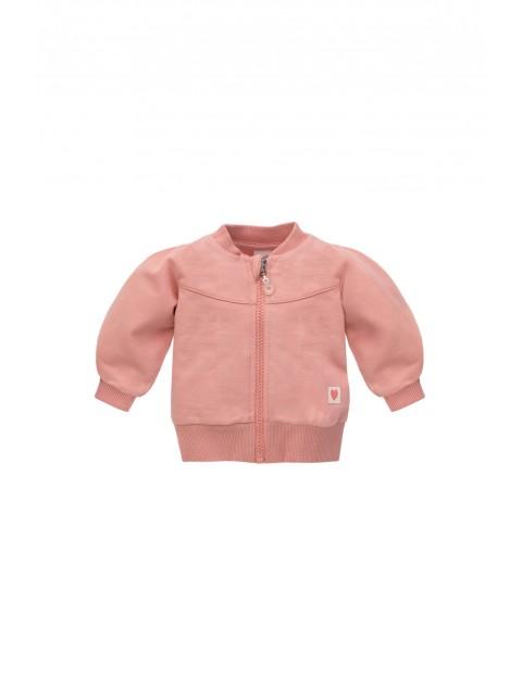 Bluza dziewczęca rozpinana różowa