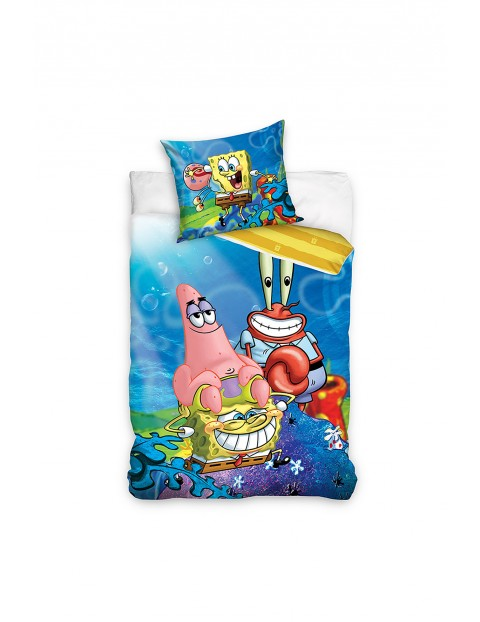 Komplet pościeli SpongeBob  140x200+70x90 cm