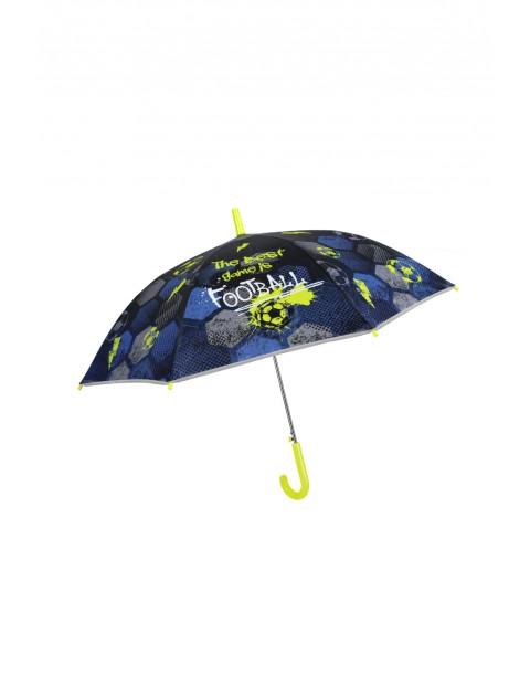 """Parasol automatyczny """"football"""" Cool Kids Perletti- z elementami odblaskowymi"""