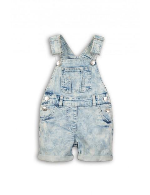 Spodnie niemowlęce na szelki  5L34A6
