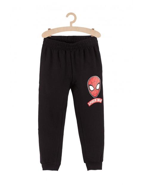 Spodnie dresowe chłopięce Spiderman czarne