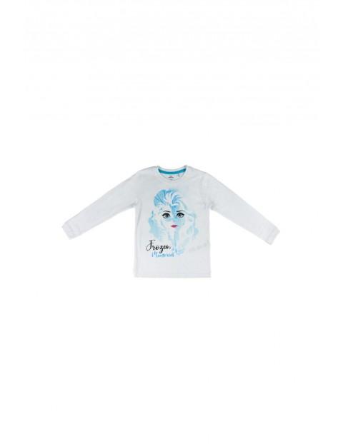 Bluzka dziewczęca na długi rękaw Frozen 2  - biały