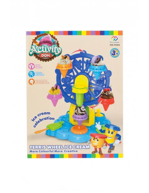 Masa plastyczna- lodziarnia Mega Creative 3+