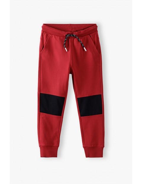 Spodnie dresowe czerwone