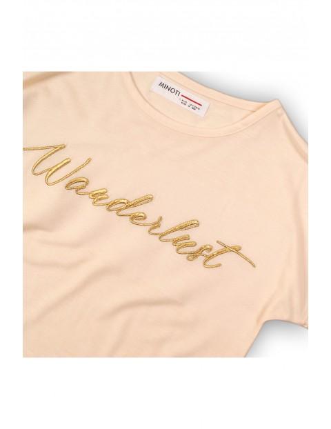 Koszulka ecru z napisem