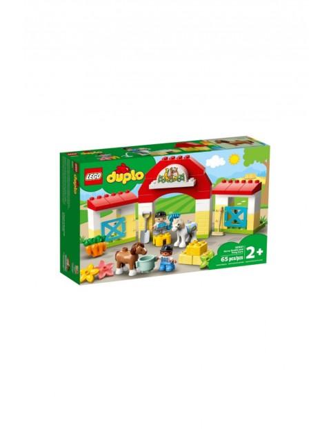 Klocki LEGO Duplo - Stadnina i Kucyki - 65 elementów wiek 2+