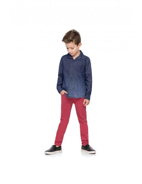 Koszula jeansowa dla chłopca