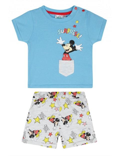 Komplet chłopięcy Mickey- t-shirt + szorty