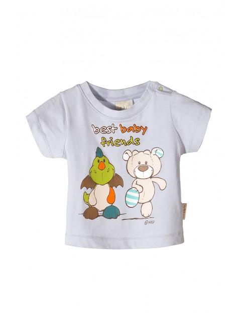 Koszulka niemowlęca Nici-zwierzaki
