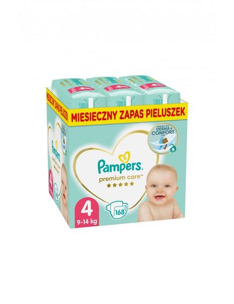 Pampers Premium Care, rozmiar 4, 168 pieluszek 9-14kg