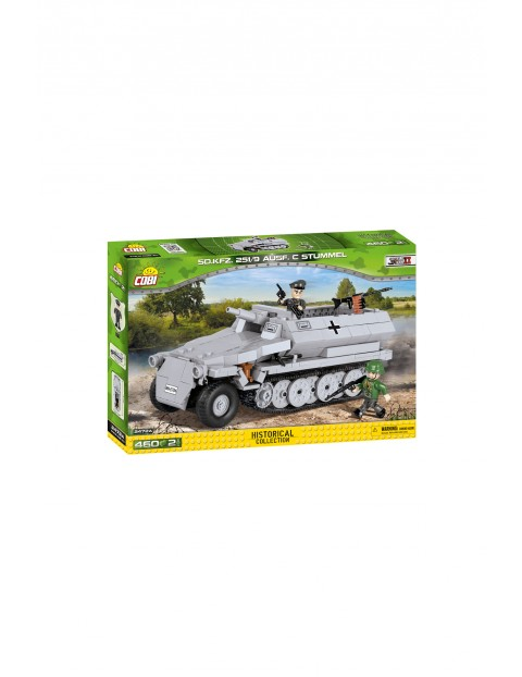 Klocki Cobi Small Army SD.KFZ.251/9AUSF.C Stummel