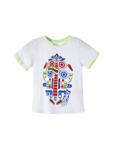 Bawełniany t-shirt dla chłopca