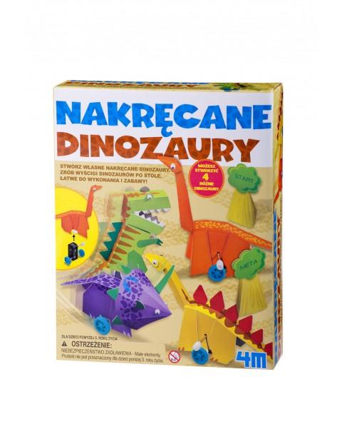 Nakręcane dinozaury  5+