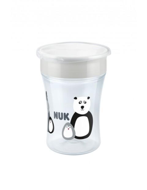 NUK Kubek MAGIC CUP 360°- 230ml biały wiek 8msc+