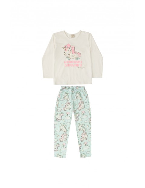 Pidżama niemowlęca z jednorożcem