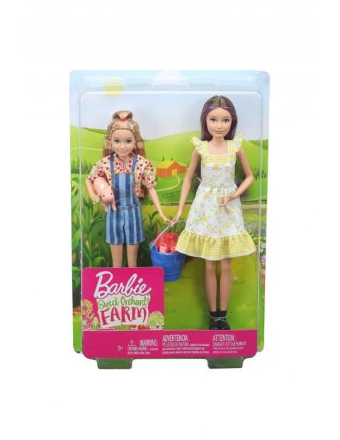 Lalki Barbie Skipper i Stacie na farmie wiem 3+