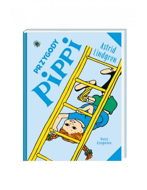 """Książka dla dzieci """"Przygody Pippi"""""""