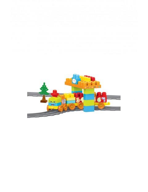 Pierwsze klocki Baby Blocks Railway Kolejka 2,24m - 58el
