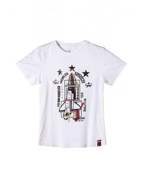 T-shirt chłopięcy z nadrukiem 2I3401