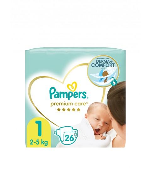 Pampers Premium Care rozmiar 1, 26 pieluszki 2-5kg