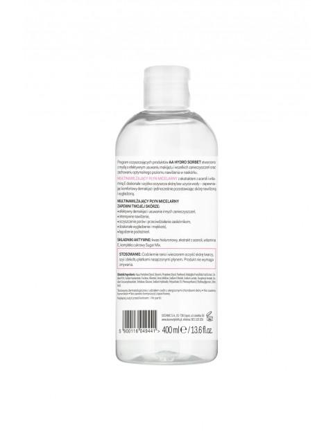AA Hydro Sorbet nawilżający płyn micelarny cera sucha/normalna 400 ml