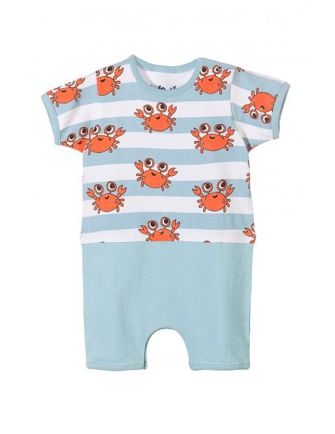 Rampers niemowlęcy 100% bawełna 5R3412