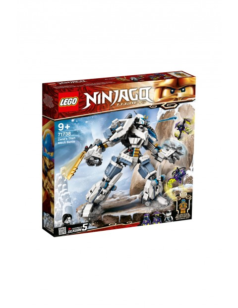 LEGO Ninjago - Starcie tytanów Mech - 840 el