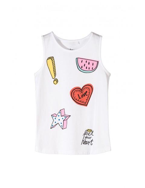 T-shirt dziewczęcy 4I3431