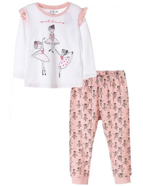 Piżama dla dziewczynki- baletnice
