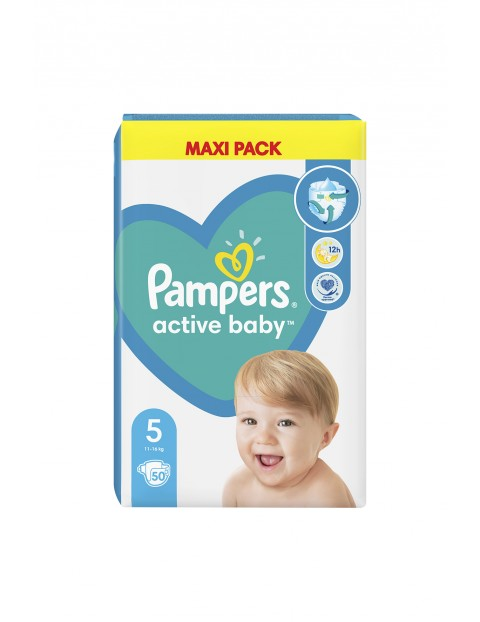 Pampers Active Baby, rozmiar5, 50szt, 11-16kg