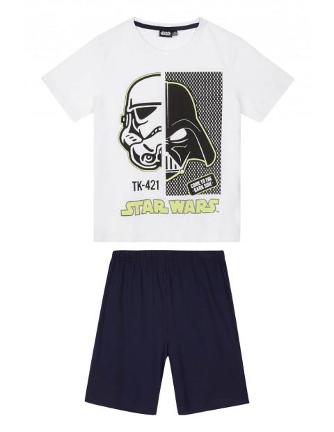 Piżama chłopięca Star Wars z elementami odblaskowymi