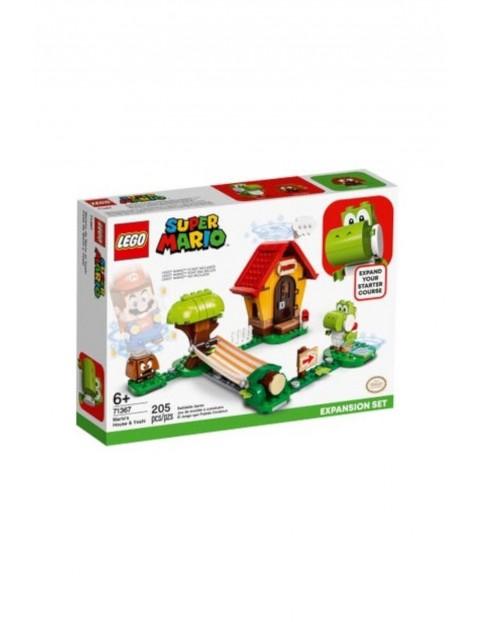 LEGO® Super Mario™ Zestaw Yoshi i dom Mario 71367 - 205 elementy wiek 6+