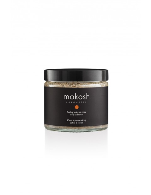 Mokosh Peeling solny do ciała Kawa z pomarańczą 300g