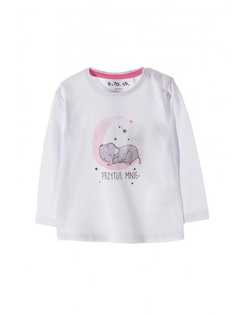 Bluzka niemowlęca bawełniana