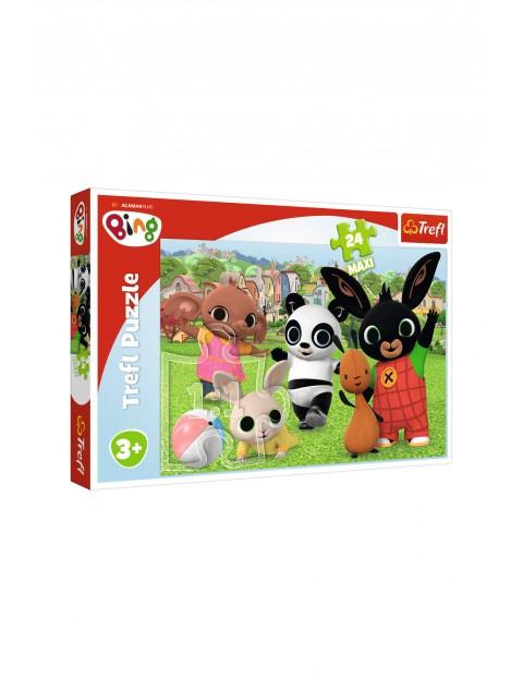 Puzzle 24 Maxi- Zabawa w parku Acamar Films Bing wiek 3+
