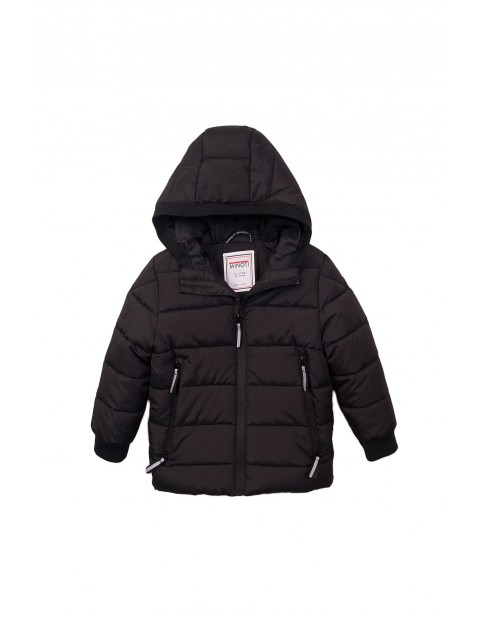 Kurtka zimowa dla niemowlaka- czarna