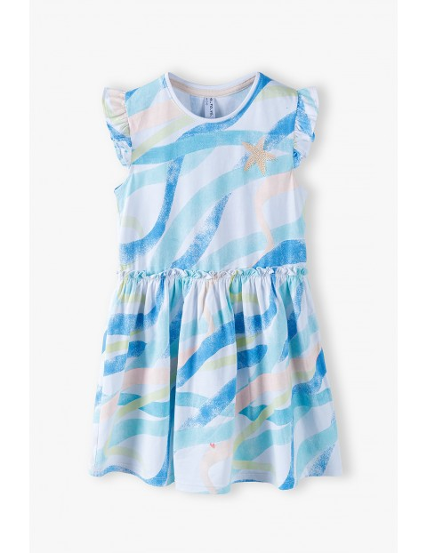 Sukienka z krótkim rękawem - bawełniana