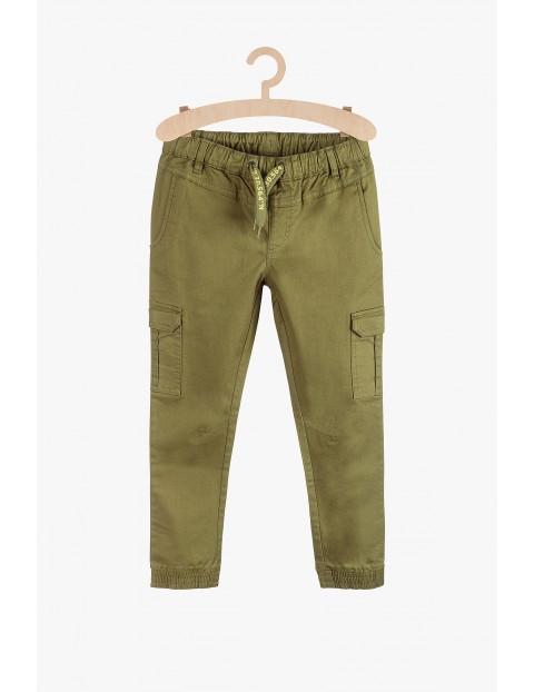 Joggery chłopięce - zielone